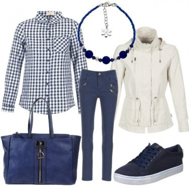 Outfit Blu settembre