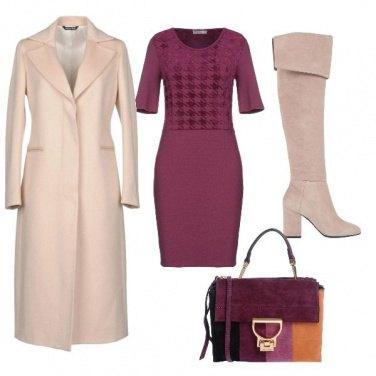 Outfit Il cappotto chiaro
