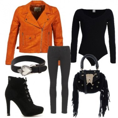 Outfit Rock a colori