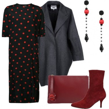 Outfit Red dots