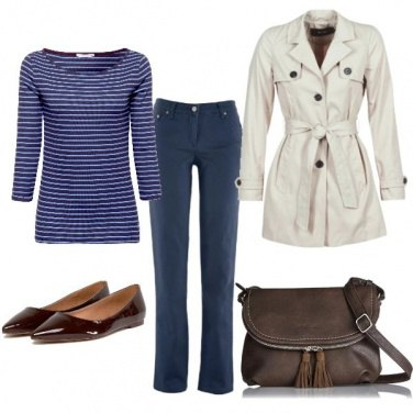 Outfit Trendy trench