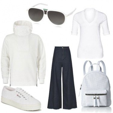 Outfit Bianchi pensieri