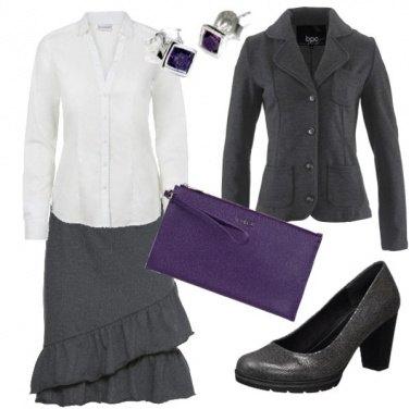 Outfit Giacca felpa