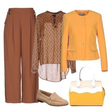 Outfit Giallo talvolta