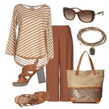 Outfit I toni del cioccolato
