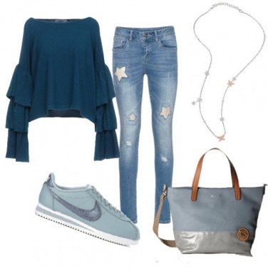 Outfit Trendy all\'università