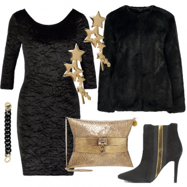 Outfit Una donna glam