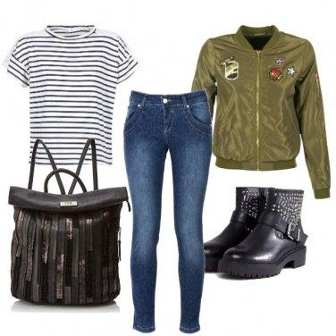 Outfit A studiare con le amiche