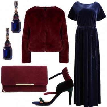 Outfit Velluto da gran sera