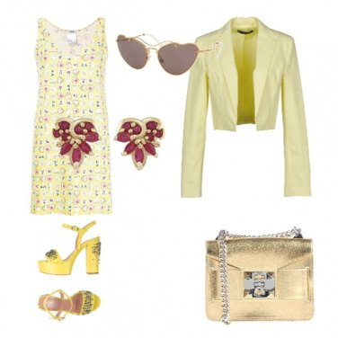 Outfit Sfumature gialle