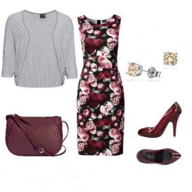 Outfit Fiori rosa...