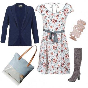 Outfit Abito a fiorellini