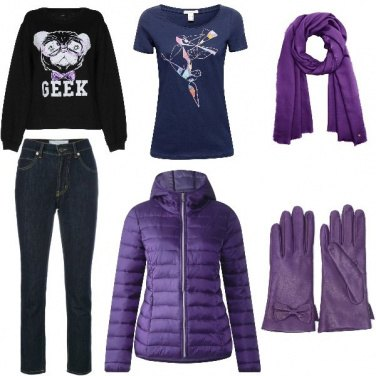 Outfit Purple mania