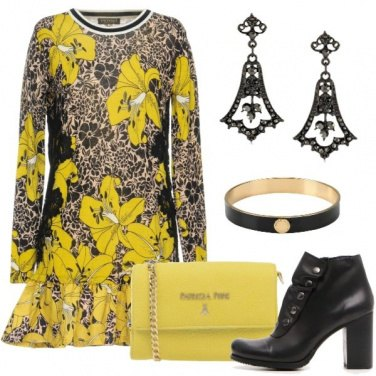 Outfit Giallo autunnale