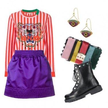 Outfit Tiger punk trash