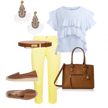 Outfit Happy-Giallo
