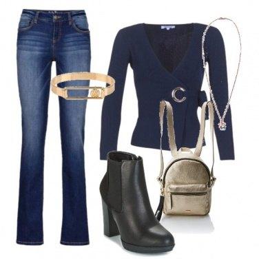 Outfit Semplicemente blu