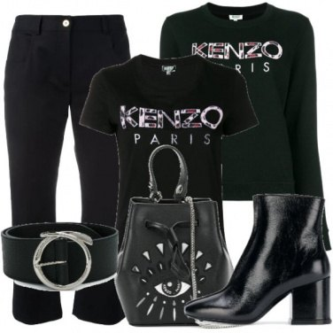 Outfit A spasso per Parigi con Kenzo