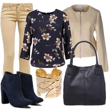 Outfit Camicetta a fiori
