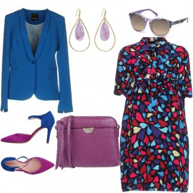Outfit Chemisier colorato