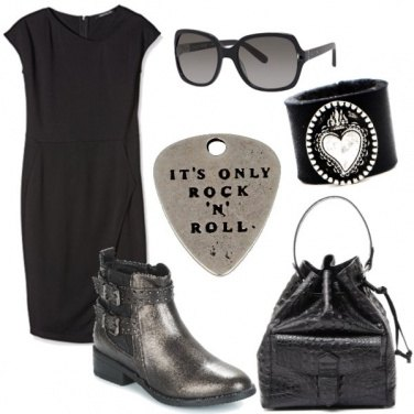 Outfit Accessori rock