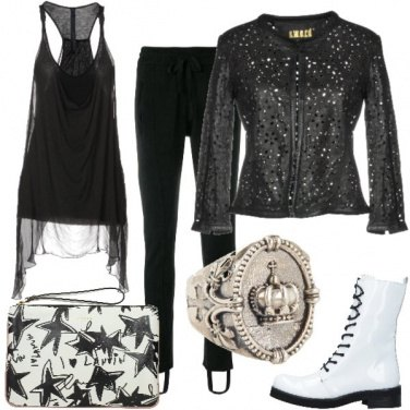 Outfit La regina della notte