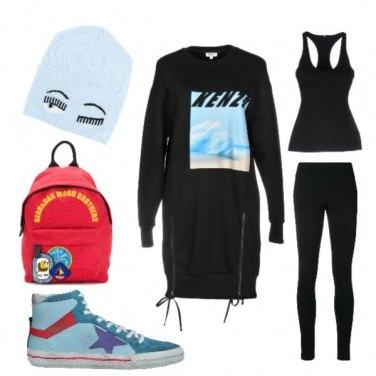 Outfit La maxi felpa