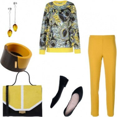 Outfit Trendy, autunno in arrivo con il giallo