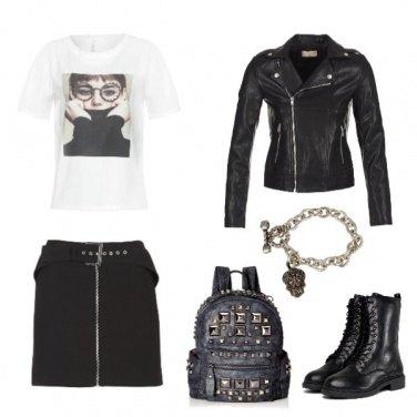 Outfit Il rock è rock