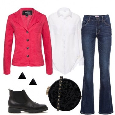 Outfit Everyday in rosso