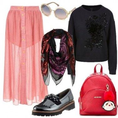Outfit Atmosfera metropolitana