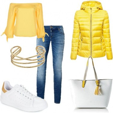 Outfit Yellow day