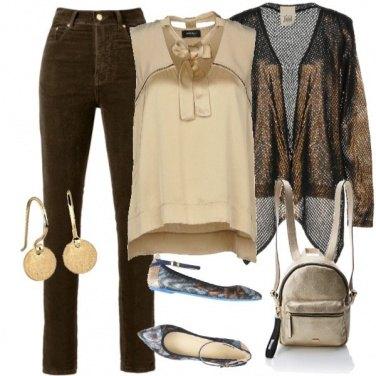 Outfit Terra e oro!!
