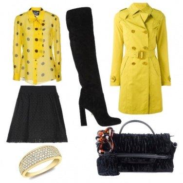 Outfit Pronta per la pioggia