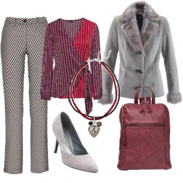 Outfit Contrasti d\'autunno