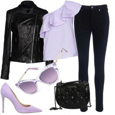 Outfit Gli occhiali lilla