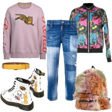 Outfit Felpa protagonista