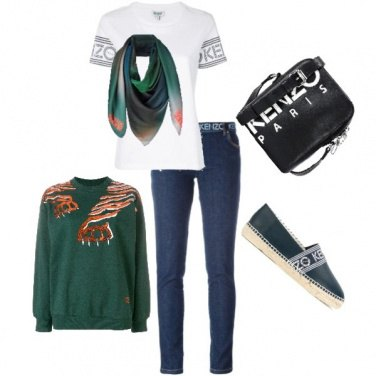 Outfit Kenzo tiger
