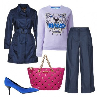 Outfit Sporty-chic quotidiano