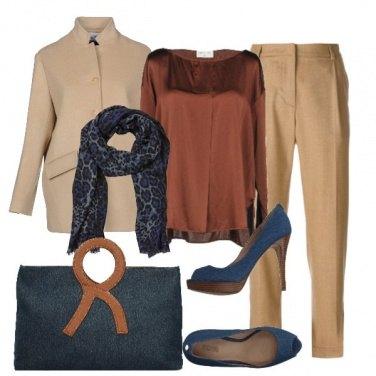 Outfit Terra e blu