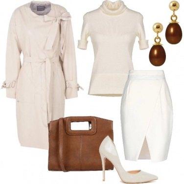 Outfit Il bianco Pantone 11-4801 - TOFU
