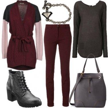 Outfit Cardigan caldo