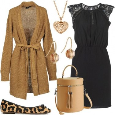 Outfit Ballerine leopardate