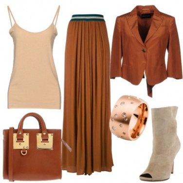 Outfit Caldi colori autunnali