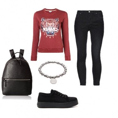 Outfit Kenzo Style