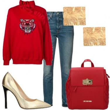 Outfit Foglie d'oro