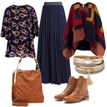 Outfit Toni cognac