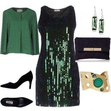 Outfit Paillettes disco