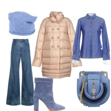 Outfit Trionfo di azzurro