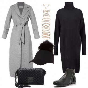 Outfit Cappellino in lana